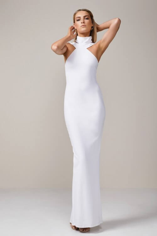 Nookie Celestial Gown Floor Length, Maxi White