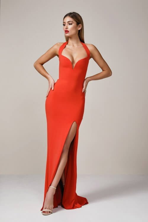 Nookie Madonna Gown Floor Length Red