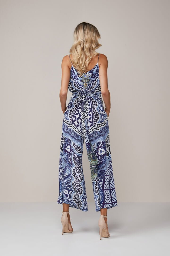8746df3ff17 Camilla - Under The Medina Moon Jumpsuit - Print - ONS Boutique