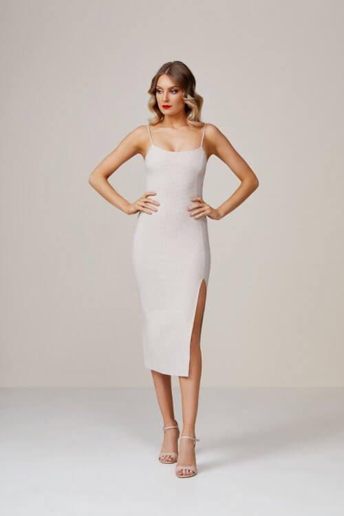 Bec & Bridge Dionne Midi Dress Knee Length, Midi Print