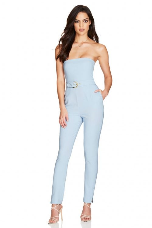 Nookie Impulse Jumpsuit Jumpsuit, Strapless Blue