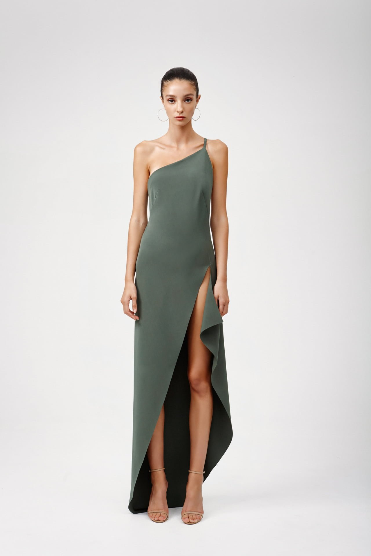 Lexi Lina Dress Khaki Ons Boutique