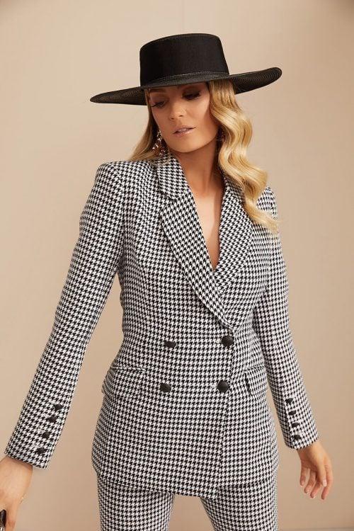 Mackenzie Mode Wintercress Jacket & Pants Jumpsuit, Long-Sleeve, Two-piece Set Print