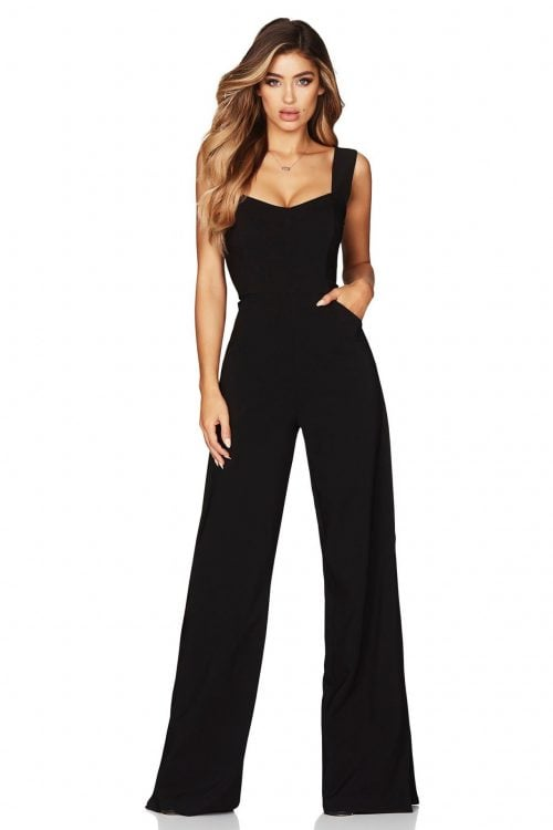Nookie Divine Jumpsuit Jumpsuit Black