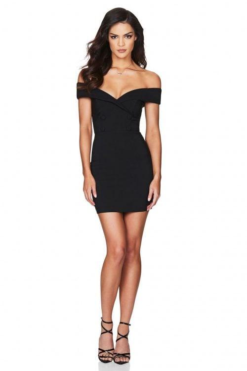 Nookie Bella Mini Dress Mini Black