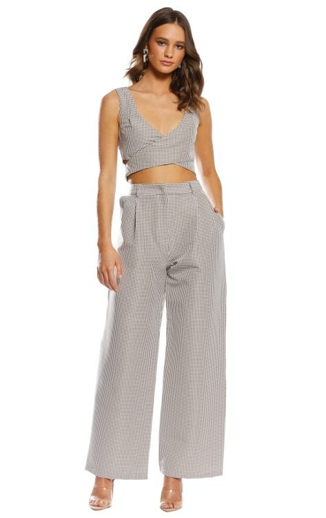 Pasduchas Cache Top & Pant Two-piece Set Khaki