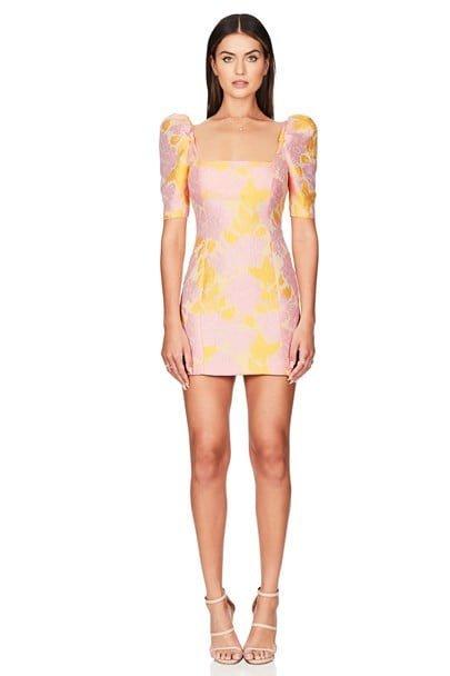 Nookie Solana Sleeve Mini Long-Sleeve, Mini Pink