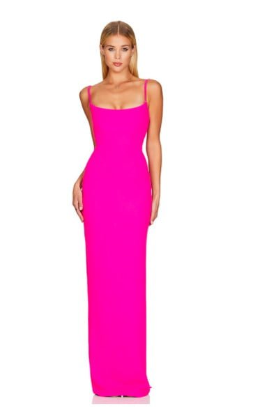 Nookie Bailey Gown Floor Length, Maxi Pink