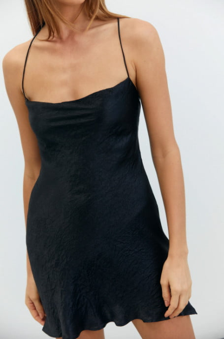 Third Form River MINI Backless, Mini Black