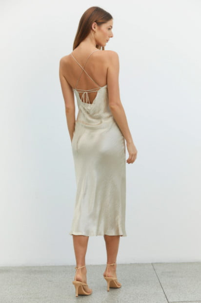 Third Form River MIDI Backless, Midi Nude