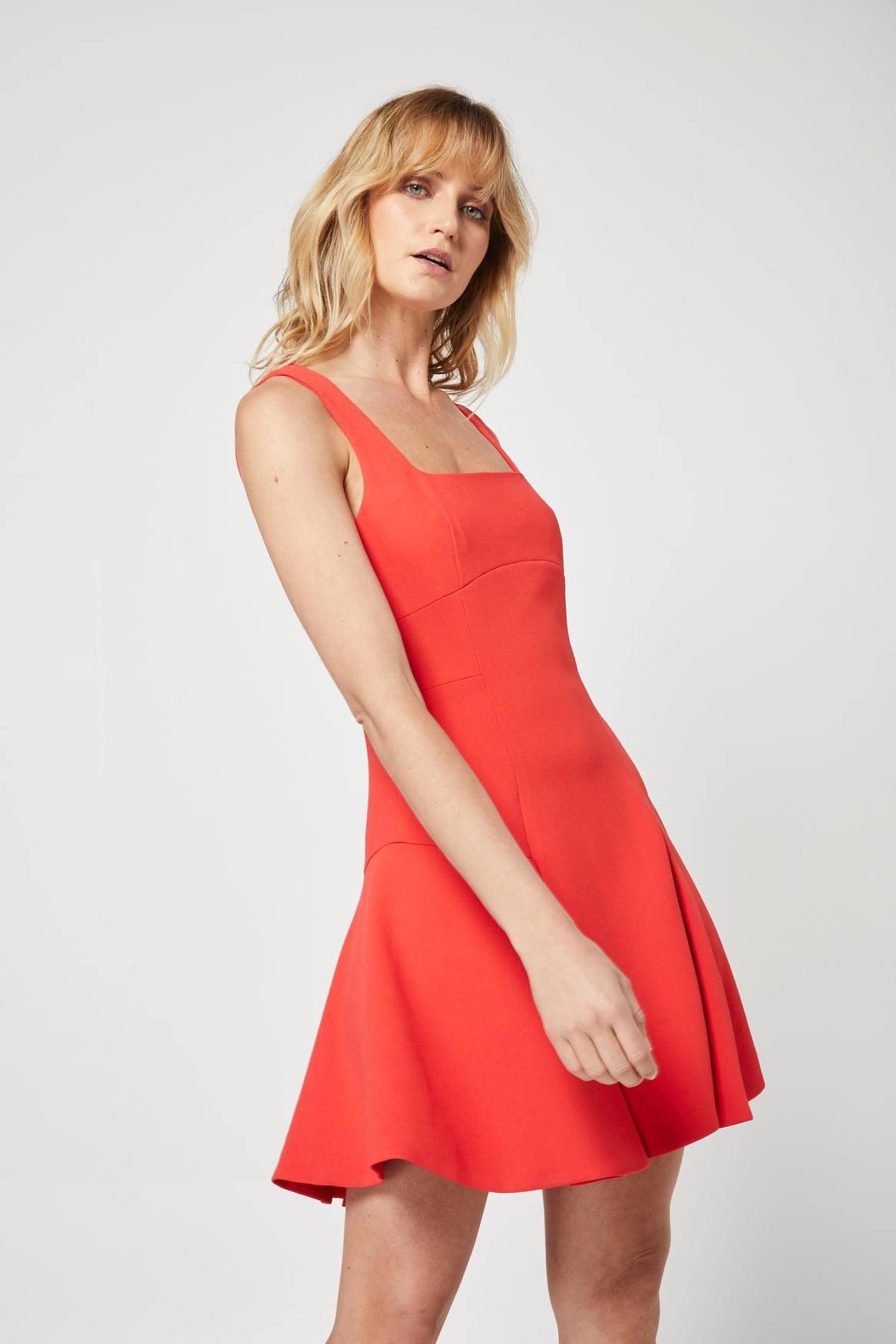 Elliatt Sasha Dress Mini Coral